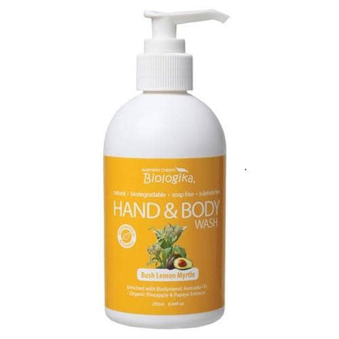 Biologika - Hand and Body Wash - Lemon Myrtle (250ml)