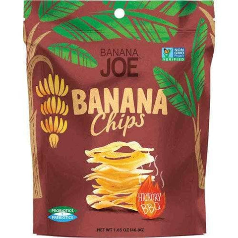 Banana Joe - Banana Chips - Hickory BBQ (46.8g)