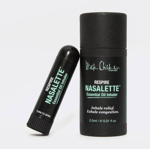 Black Chicken - Nasalette™ Essential Oil Inhaler - Respire (0.5ml)