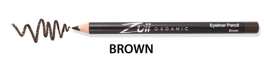 Zuii - Organic Flora Eyeliner Pencil Brown 1.2g