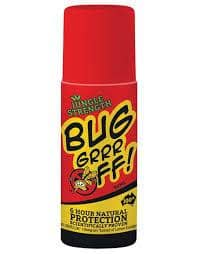 Bug-grrr Off - Natural Insect 6 Hour Protection - Roll-On (90ml)