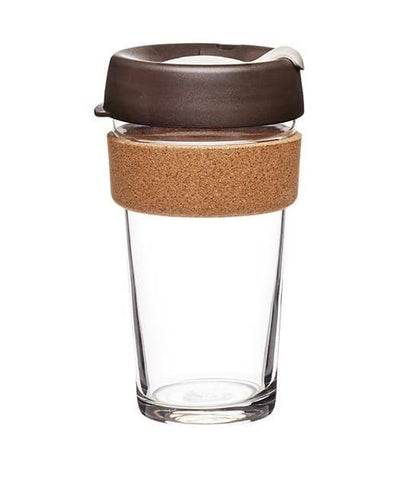 KeepCup - Cork Brew Coffee Cup - Almond (16oz)