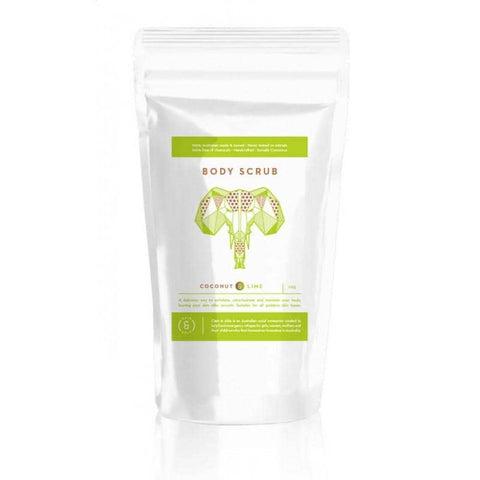 Caim & Able -  Magnesium Body Scrub - Nourish Coconut and Lime 225g