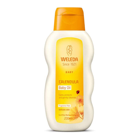Weleda - Calendula Baby Oil - Fragrance Free (200ml)
