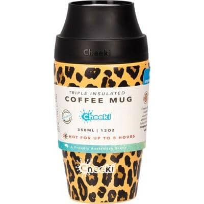 Cheeki - Coffee Mug - Leopard (350ml)