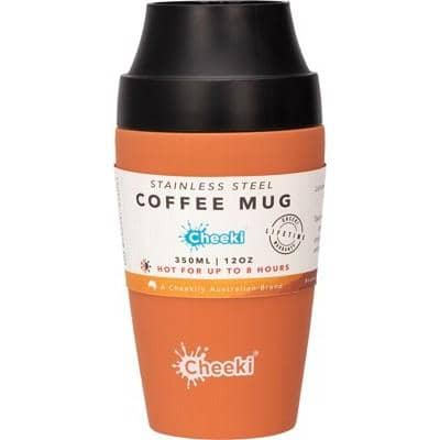 Cheeki - Coffee Mug - Rust (350ml)