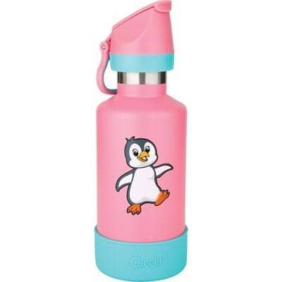 Cheeki - Insulated Kids Bottle - Pia the Penguin (400ml)