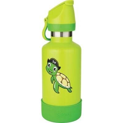 Cheeki - Insulated Kids Bottle - Taj the Turtle (400ml)