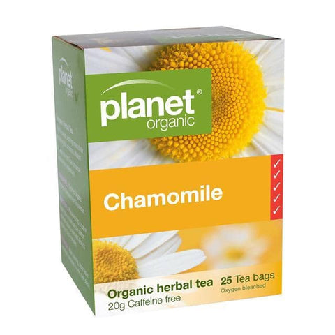 Planet Organic - Herbal Tea Bags - Chamomile (25 Pack)