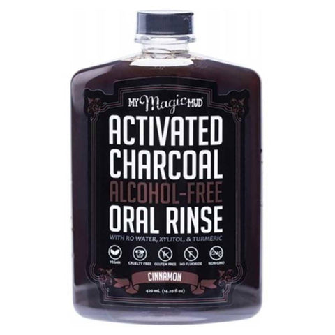 My Magic Mud - Charcoal Oral Rinse Cinnamon (420ml)