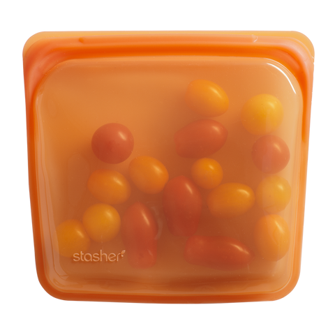 Stasher - Plastic-Free Sandwich Bag - Citrus
