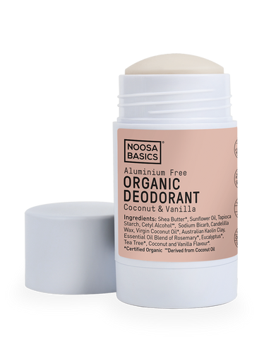 Noosa Basics - Organic Deodorant Stick - Coconut and Vanilla (60g)