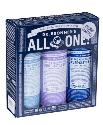 Dr Bronner's - Liquid Soap Multi-Pack - Cosmic Classics
