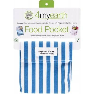 4myearth - Food Pocket - Denim Stripe