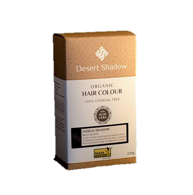 Desert Shadow Organic Hair Colour - Indigo Shadow
