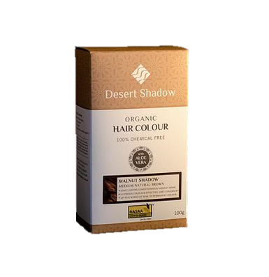 Desert Shadow Organic Hair Colour - Walnut Shadow