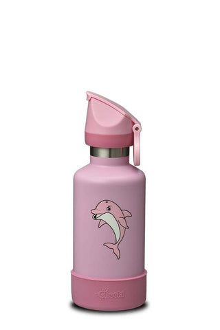 Cheeki - Insulated Kids Bottle - Dani The Dolphin  (400ml)