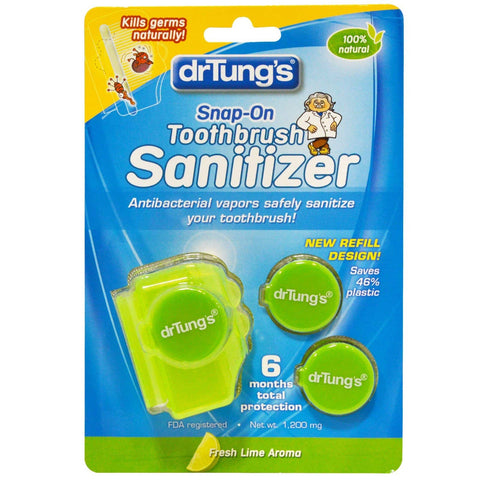 Dr Tung's - Snap-On ToothBrush Sanitizer