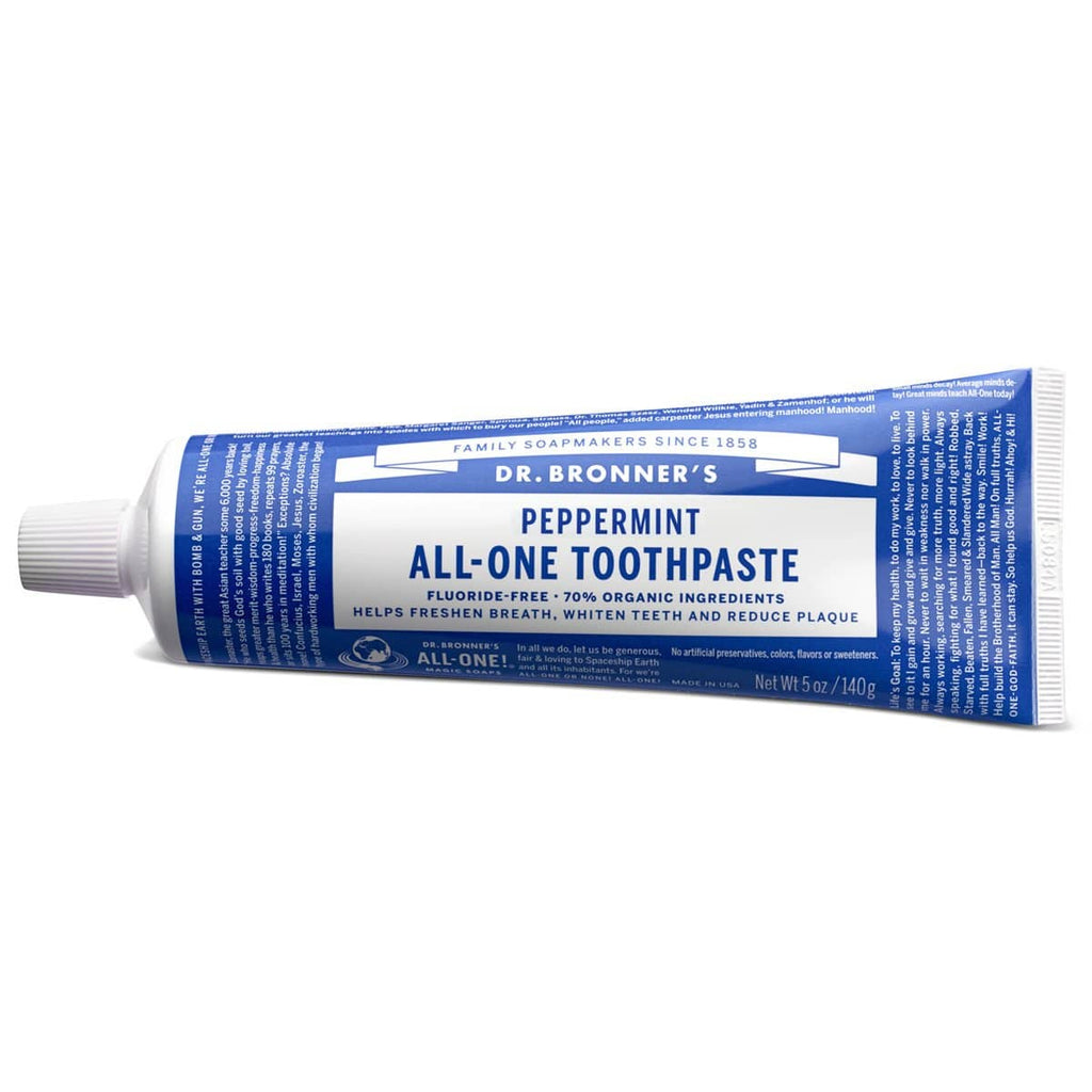 Dr Bronners All - One Toothpaste Peppermint