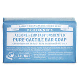 Dr Bronners - Baby Unscented Mild Soap Bar