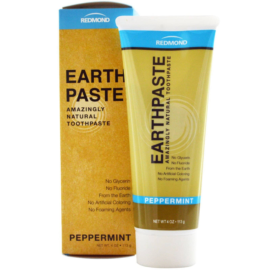 Redmond Earth Paste Toothpaste - Peppermint