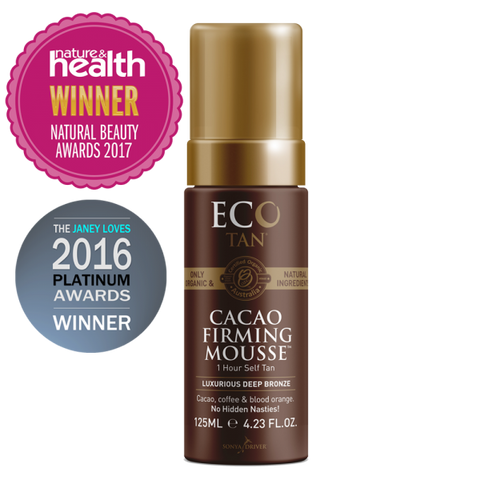 Eco Tan - Cacao Tanning Mousse (125ml)