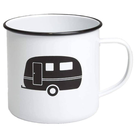 Retro Kitchen - Enamel Mug - Caravan