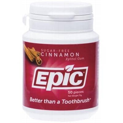 Epic - Xylitol Chewing Gum - Cinnamon (50)