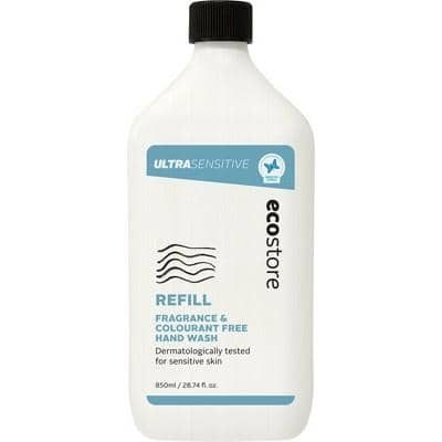 Ecostore - Hand Wash Refill  - Ultra Sensitive (850ml)