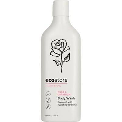 Ecostore - Body Wash - Rose & Geranium (400ml)