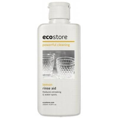 Ecostore - Dishwasher Rinse Aid - Lemon (200ml)