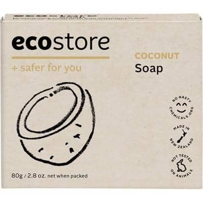 Ecostore - Soap Bar - Coconut (80g)