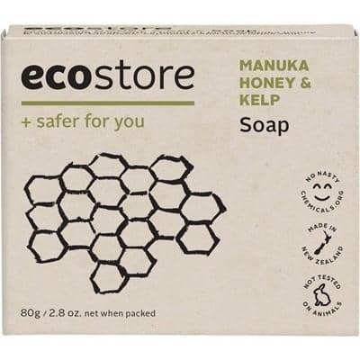 Ecostore - Soap Bar - Manuka Honey and Kelp (80g)