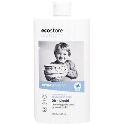 Ecostore - Dish Liquid - Ultra Sensitive Fragrance Free (500ml)