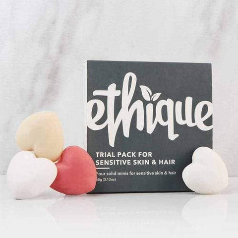 Ethique - Trial Pack for Sensitive Skin and Hair (60g)