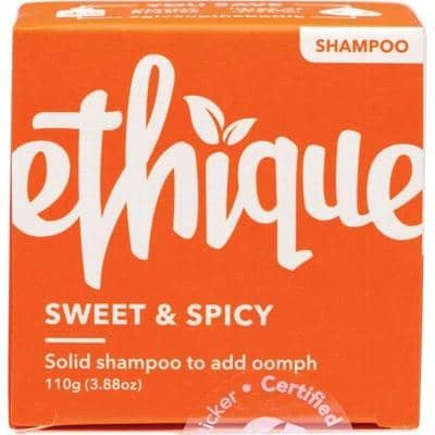 Ethique - Solid Shampoo Bar - Sweet and Spicy For Volume (110g)