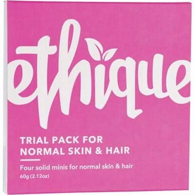 Ethique - Trial Pack for Normal Skin and Hair (60g)