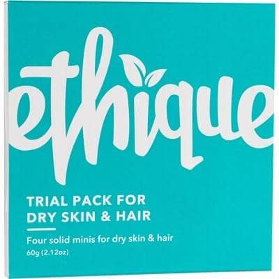 Ethique - Trial Pack for Dry Skin and Hair (60g)