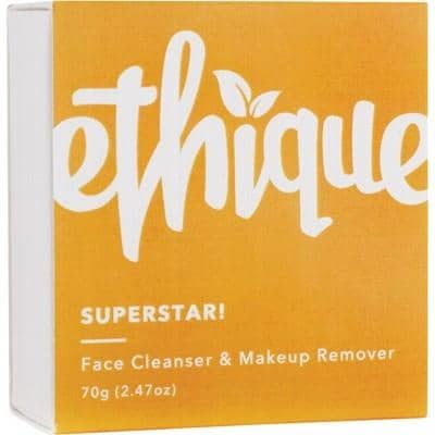 Ethique - Face Cleansing Bar and Makeup Remover - Superstar! (65g)