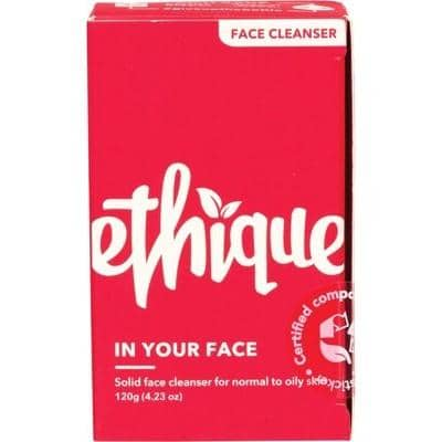 Ethique - Face Cleansing Bar - In Your Face For Oily-Normal Skin (120g)