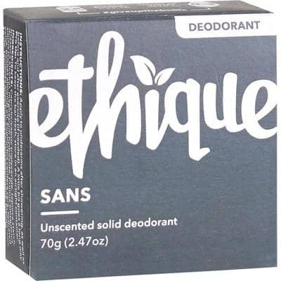 Ethique - Solid Deodorant Bar - Sans (70g)