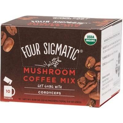 Four Sigmatic - Mushroom Coffee Mix with Cordyceps (10 x 2.5g)