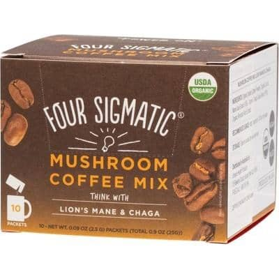 Four Sigmatic - Mushroom Coffee Mix with Lion's Mane and Chaga (10 x 2.5g)