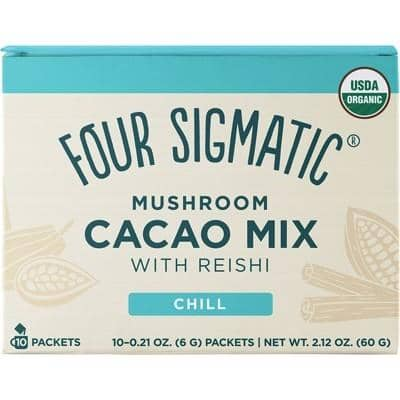 Four Sigmatic - Mushroom Cacao Mix with Reishi (10 x 6g)