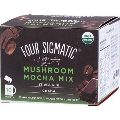 Four Sigmatic - Mushroom Mocha Mix with Chaga and Cacao (10 x 6g)