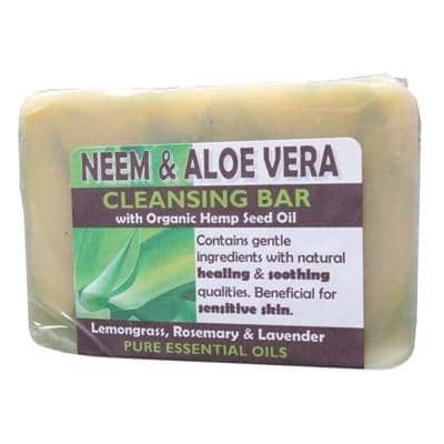 Harmony - Cleasning Bar - Neem and Aloe Vera (140g)