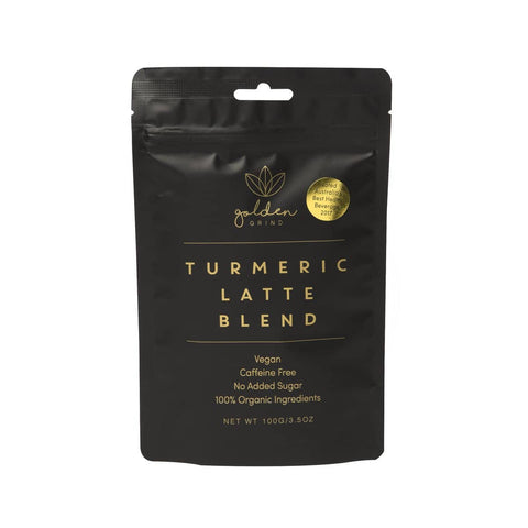 Golden Grind - Turmeric Latte Blend 100g ( approx 40 Serves )