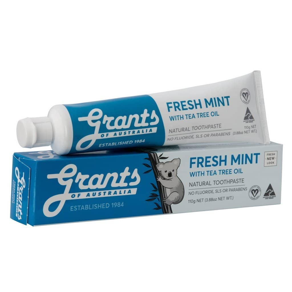 Grants - Fresh Mint Toothpaste 110g