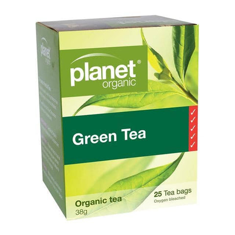 Planet Organic - Herbal Tea Bags - Green Tea (25 Pack)