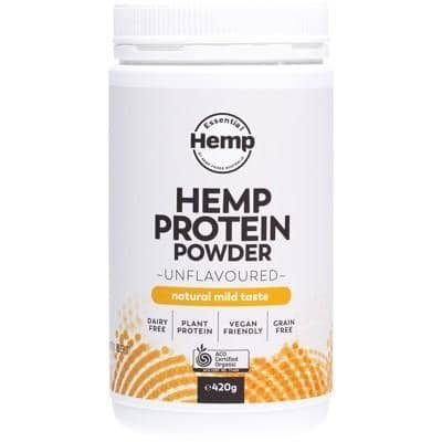Essential Hemp - Hemp Protein Powder - Unflavoured (420g)